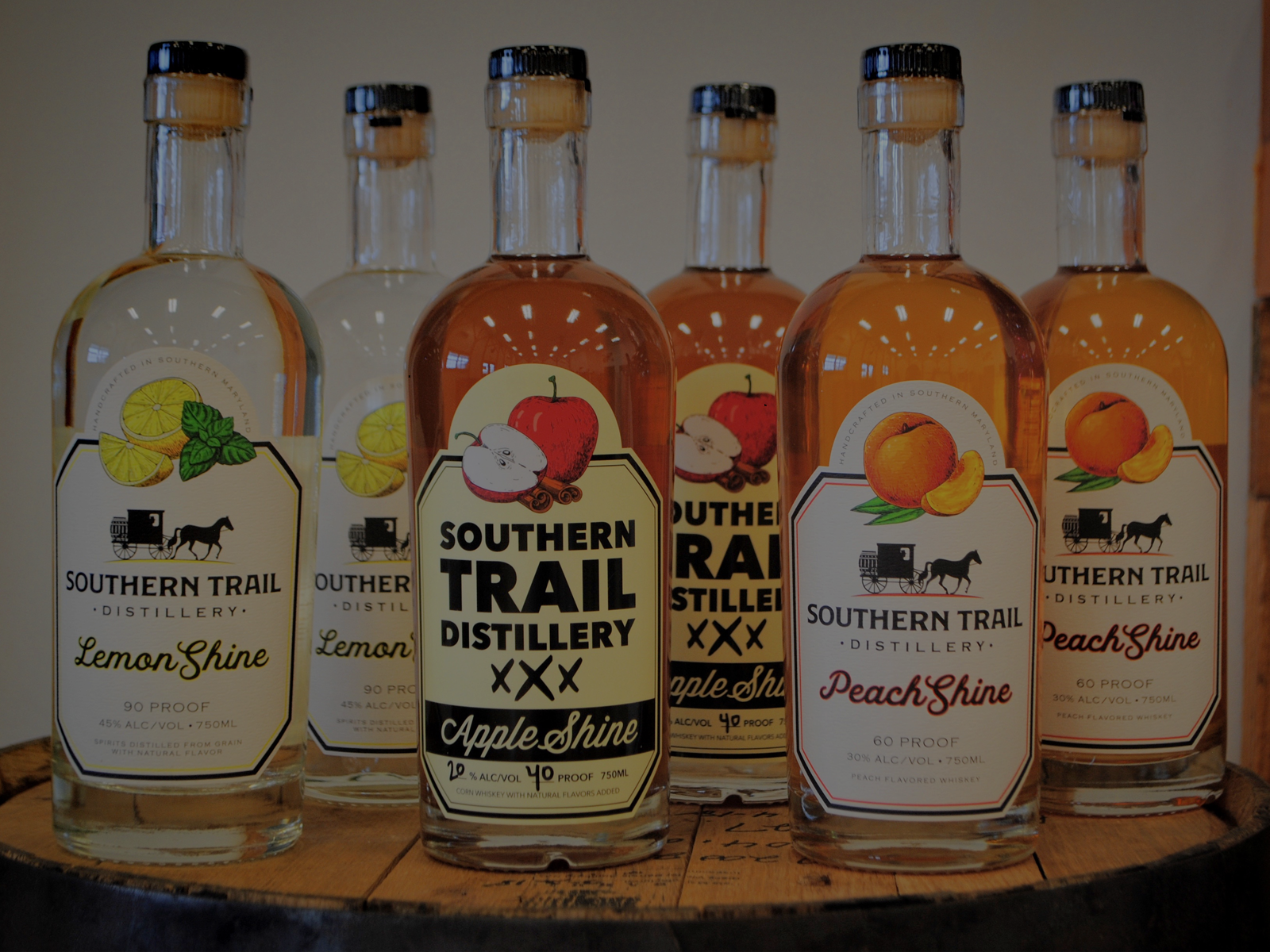 Southern Trail Distillery Spirits